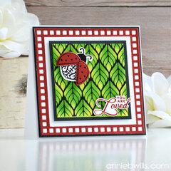 Lovely Ladybug Card