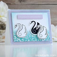 Graceful Swan Card