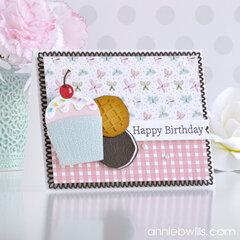 Sweet Birthday Cupcake Pocket Card