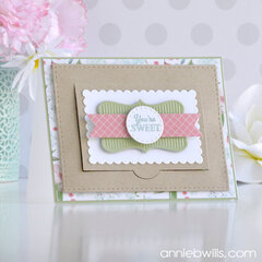 Sweet Cookie Box Shaker Card