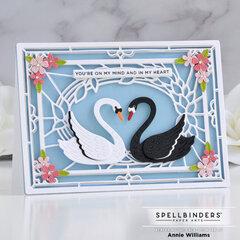 Sweet Love Swans Card