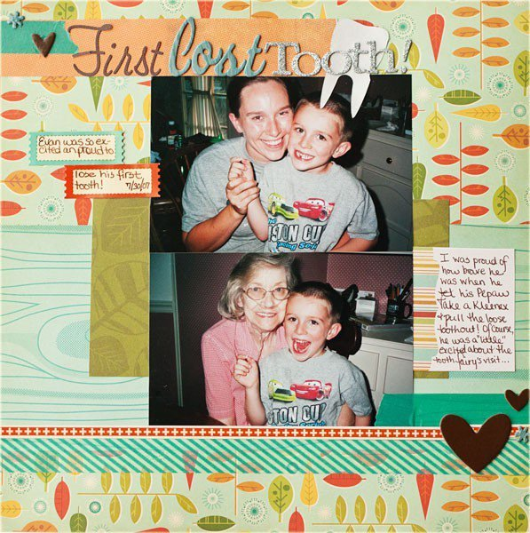 First Lost Tooth *For Love, Elsie Blog Focus