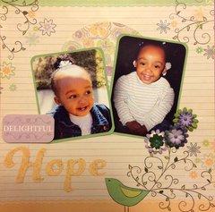 My Granddaughter, Hope