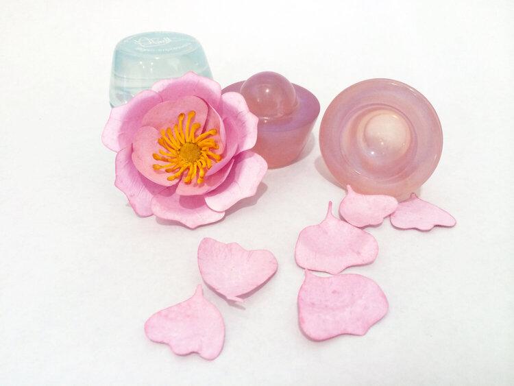 Bloom Impressions Flower using 60lb office cardstock