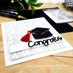 Graduation Card featuring National Scrapbook Day Freebie