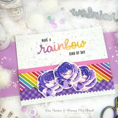 Rainbows & Roses Card