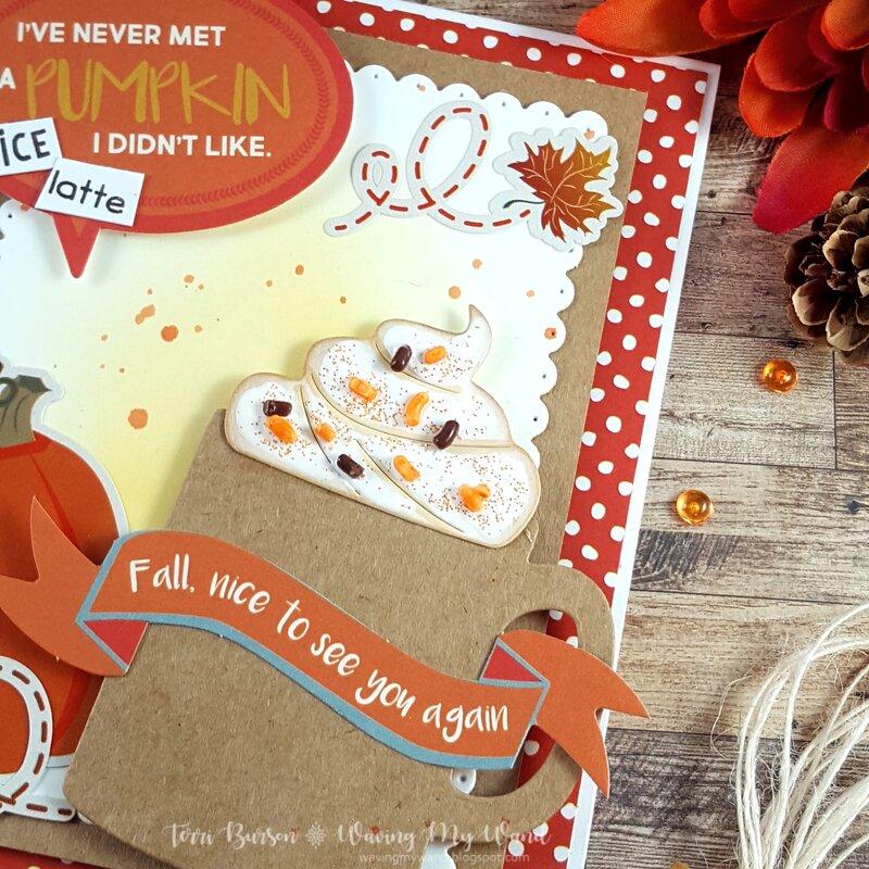 Pumpkin Spice Coffee Card