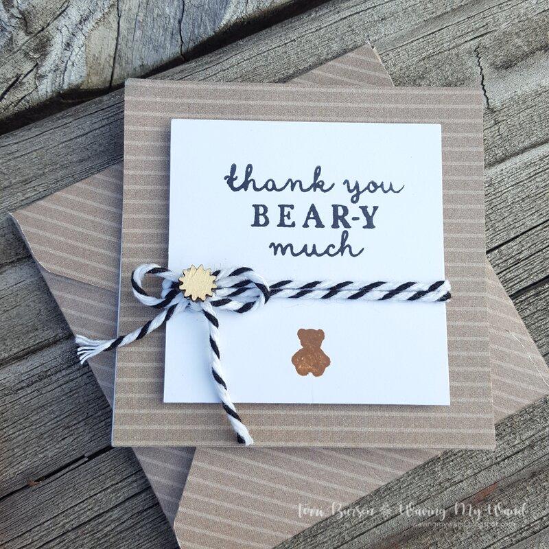 Critter Mini Cards & Envelopes