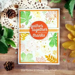 Fall Card for World Cardmaking Day