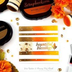 Masked & Ink Blended Autumn Cards + Video