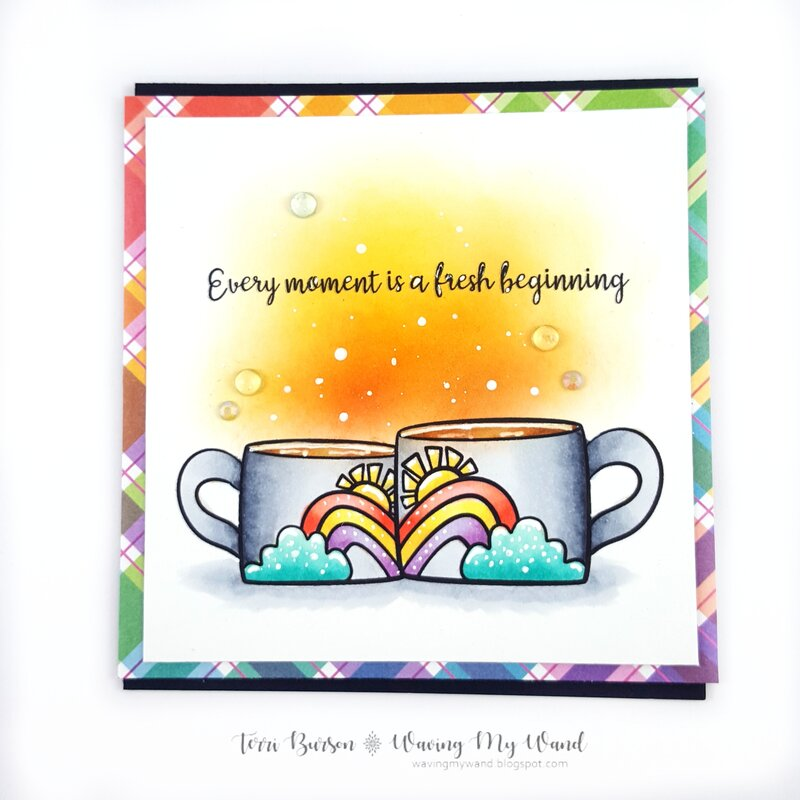 Fresh Beginnings Coffee Card