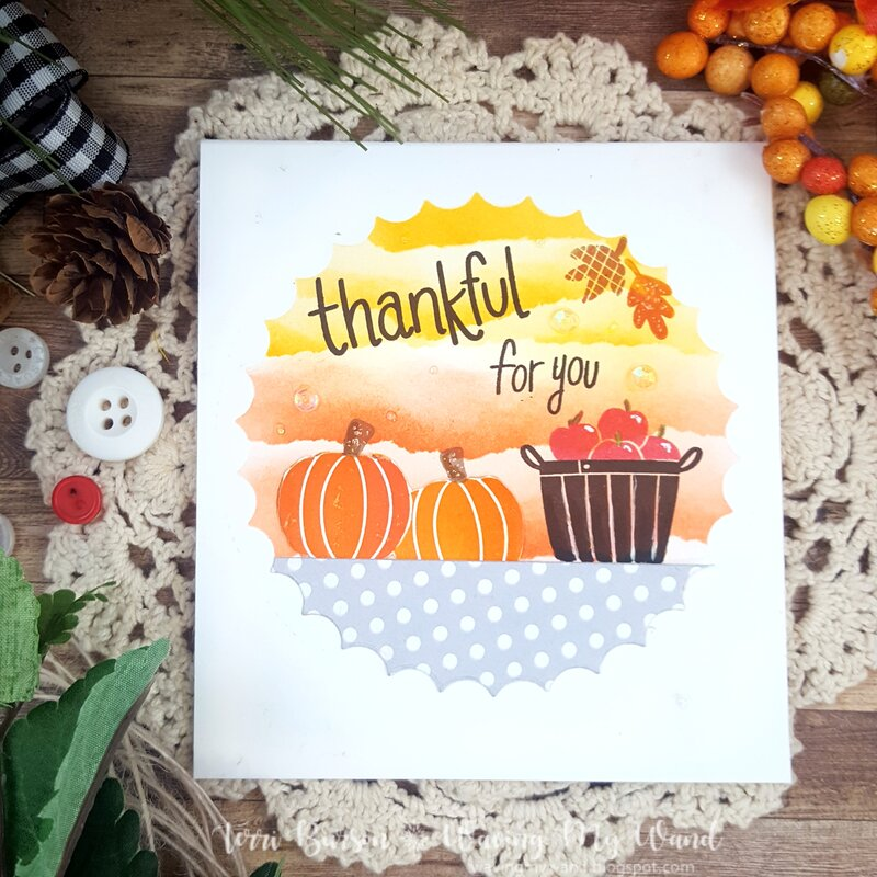 Autumn Harvest Card with Catherine Pooler Designs