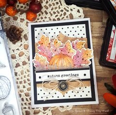 Autumn Greetings w/new Wendy Vecchi release!