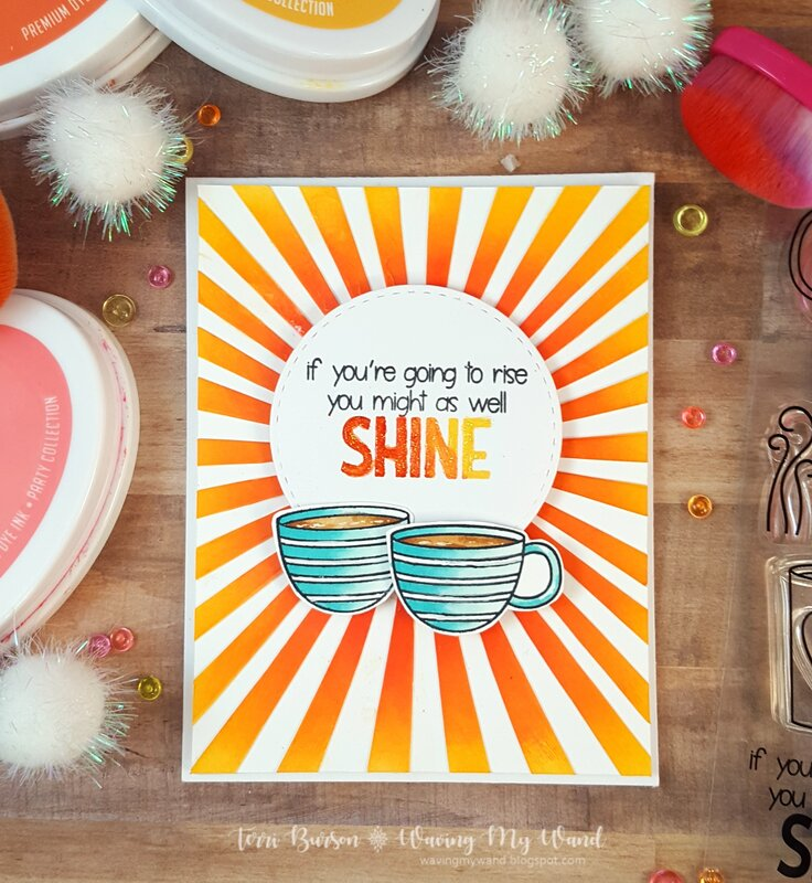 Coffee Rise and Shine Card