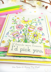Spring Card featuring Adornit Paintables