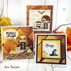 Wizardly Mini Card Trio for Coffee Loving Cardmakers