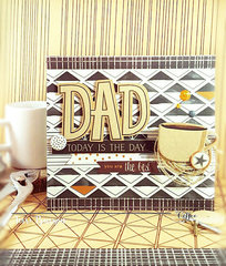 Masculine Card for Dad featuring MME Hey Mister