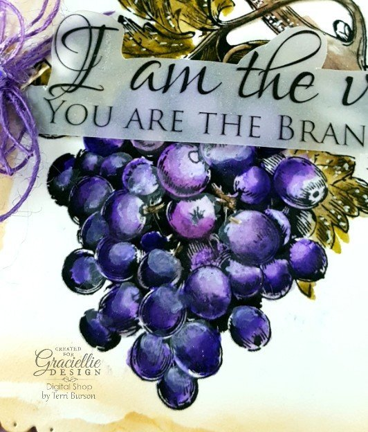 """Coloring """"The Vine"""" w/Tombows for Graciellie Design"""