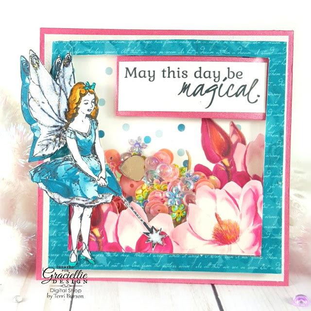 Fairy Shaker Card