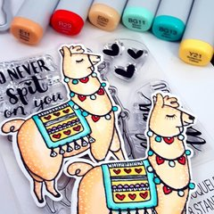 Sizzix Llama Love Coloring