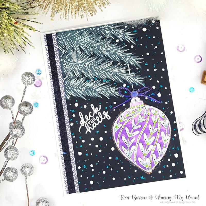 Christmas Card featuring New Simon Hurley!