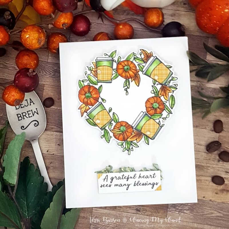 Coffee and Pumpkins Card