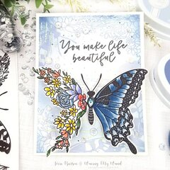 Butterfly in Bloom from Catherine Pooler Designs