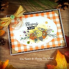 Fall Blessings Card