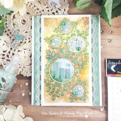 Floral Sampler Card for World Cardmaking Day