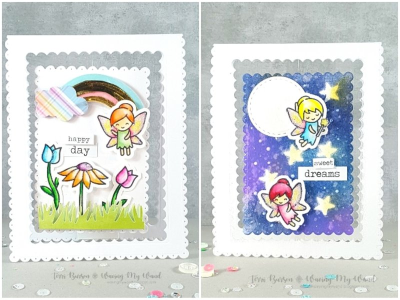 Night & Day Fairy Spinner Card