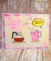 Spring Coffee Card
