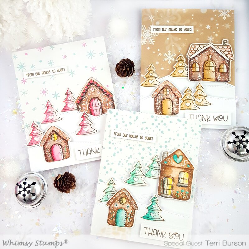 Stretching Your Stamps into Post-Holiday Thank You Cards