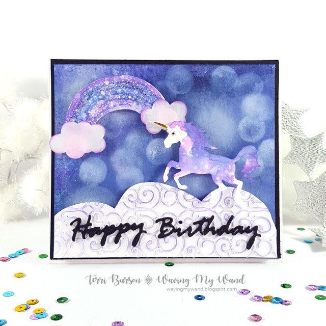 Magical Unicorn Birthday Card