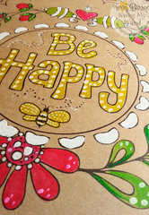 Adornit Be Happy Planner Cover