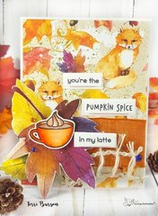 Foxy Autumn Card for Coffee Loving Cardmakers