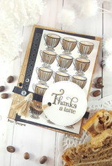 Thank You Card for Coffee Loving Cardmakers