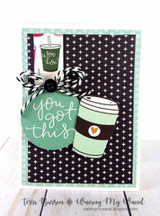 Sketch Challenge + Blog Hop a Coffee Loving Cardmakers