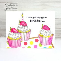 Birthday Cupcakes Cards