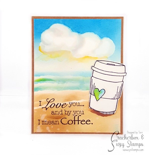 Summer Coffee Love Card