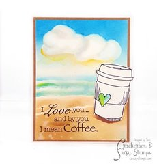 Summer Coffee Love Card