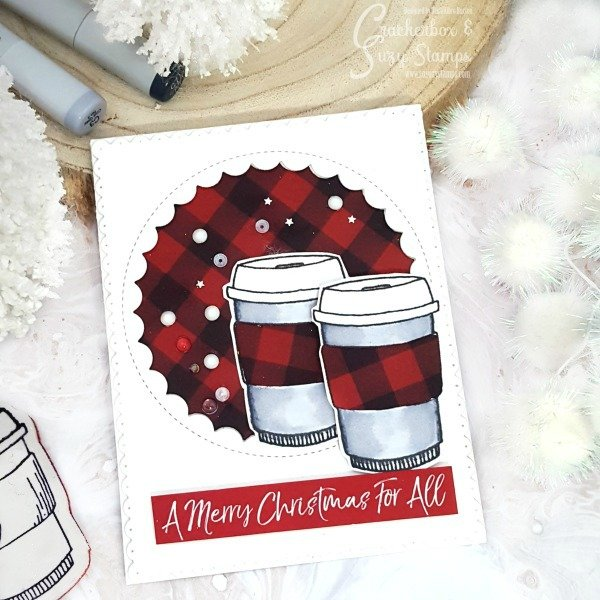 Holiday Faux Shaker Card