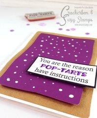 Snarky Pop-Tarts Card