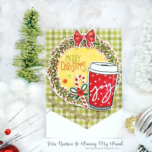 Merry Christmas Coffee Card