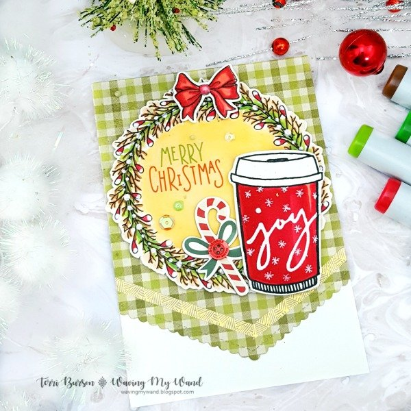 Merry Christmas Coffee Card
