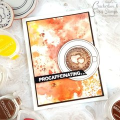 Procaffeinating Coffee Card
