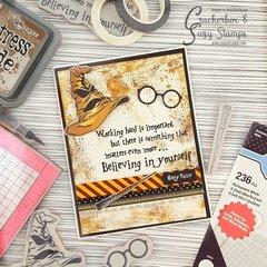 Harry Potter Card for Joint Blog Hop