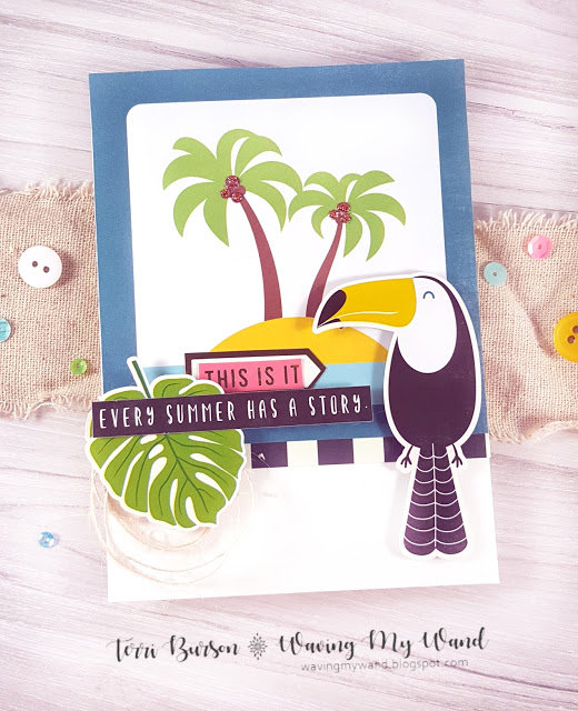 Tropical Card Inspiration