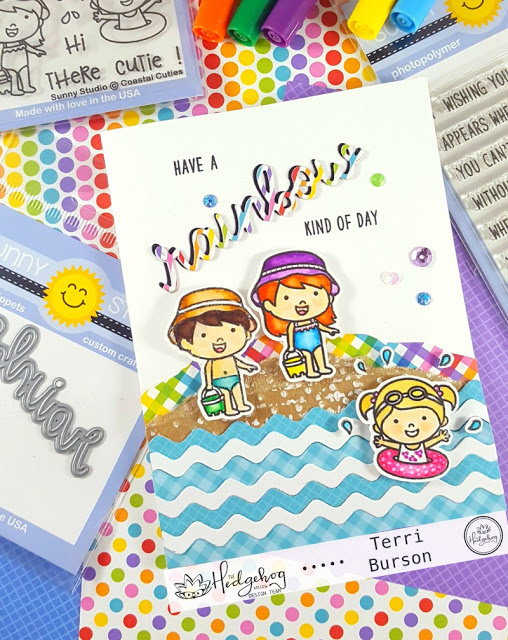 Beach Cuties Card