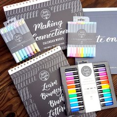 My Scrapbookcom Haul for Kelly Creates Free Lettering Class