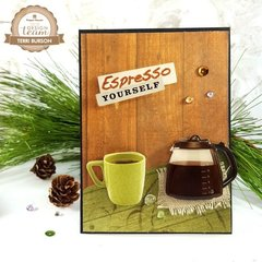 Espresso Yourself Coffee Card